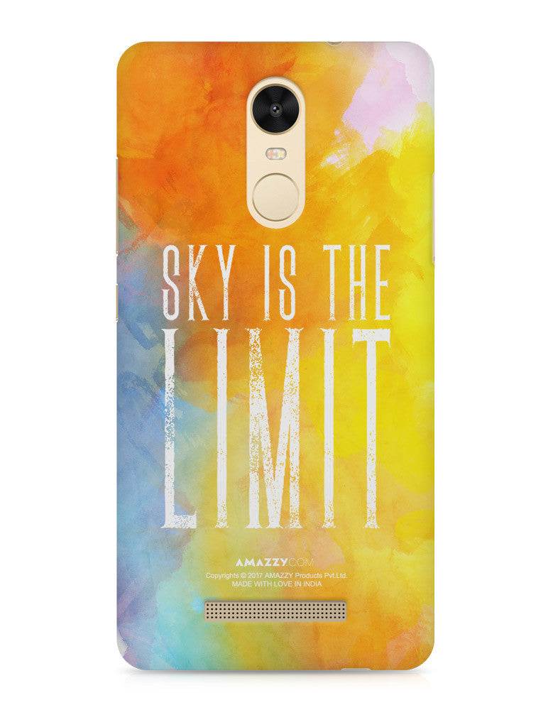 SKY IS THE LIMIT - Xiaomi Redmi Note3 Phone Cover View