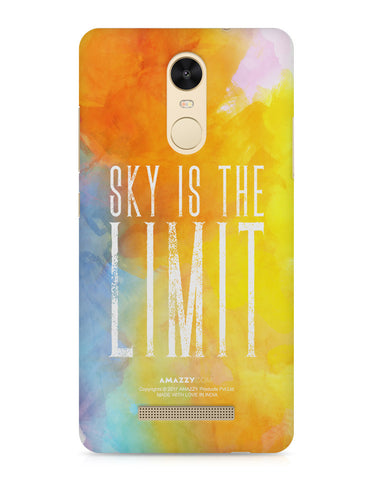 SKY IS THE LIMIT - Xiaomi Redmi Note3 Phone Cover