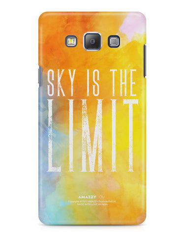 SKY IS THE LIMIT - Samsung A7 Phone Cover