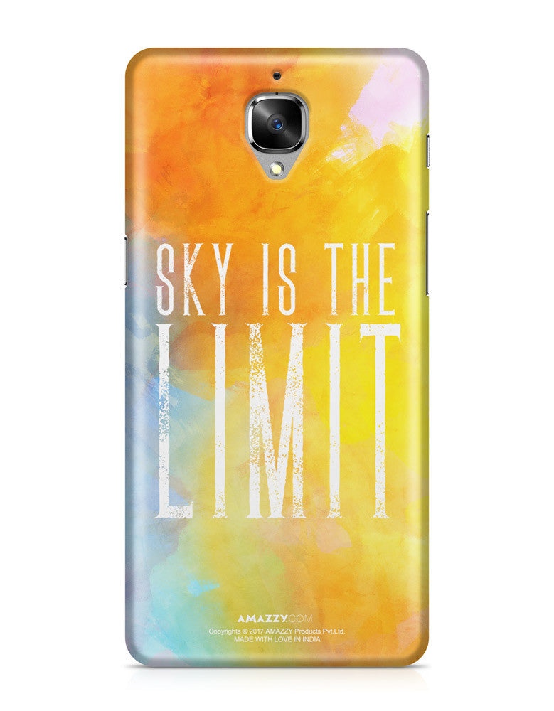SKY IS THE LIMIT - OnePlus 3 Phone Cover