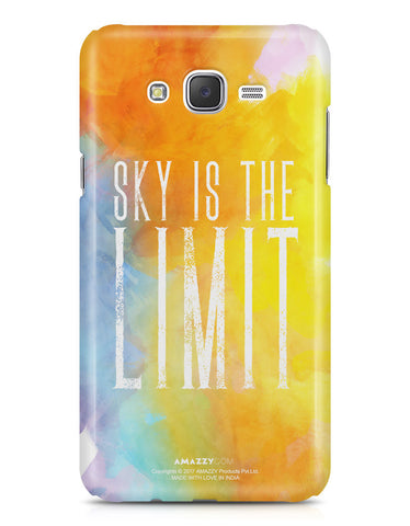 SKY IS THE LIMIT - Samsung J7 Phone Cover