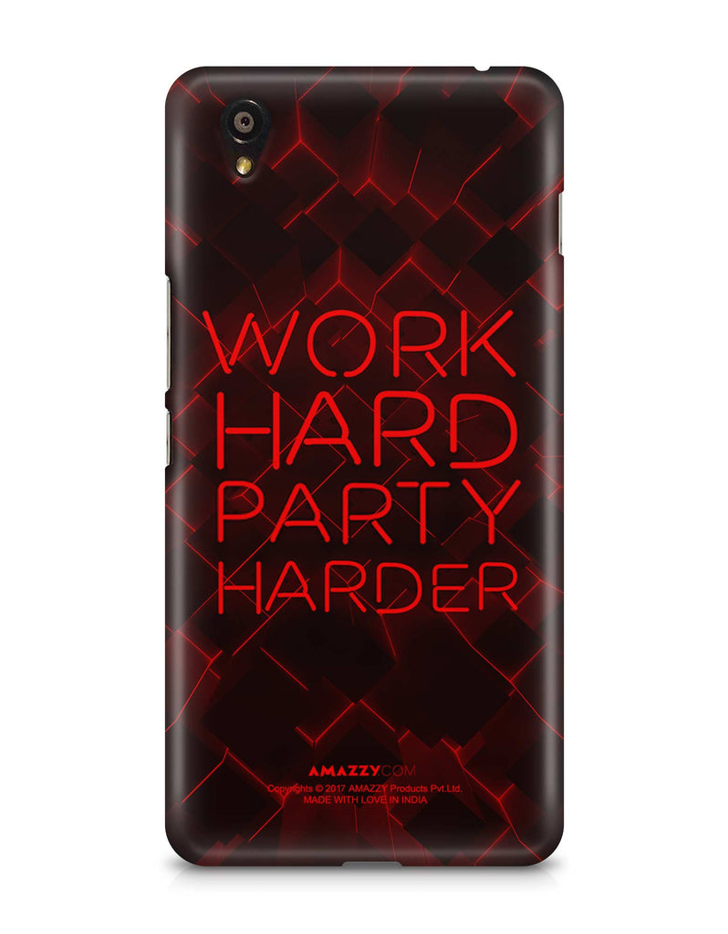 WORK HARD PARTY HARDER - OnePlus X Phone Cover