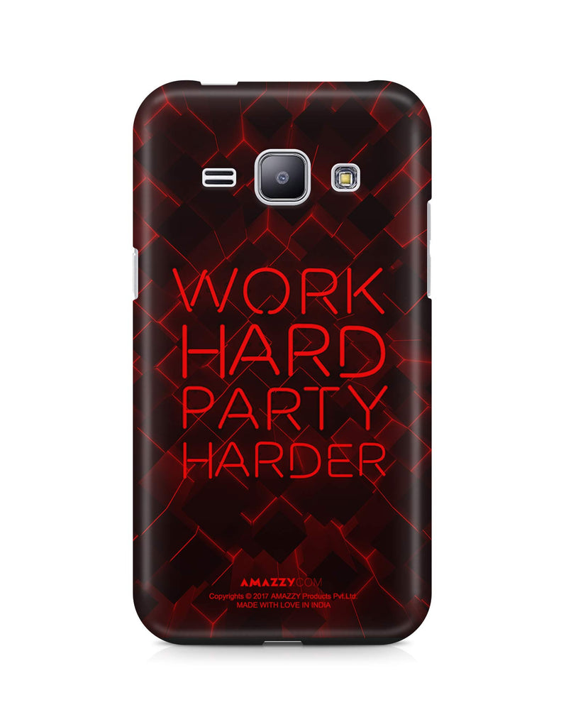WORK HARD PARTY HARDER - Samsung J1 Phone Cover