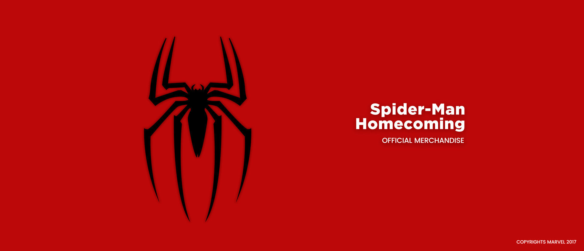 Spiderman t shirts  home page banner