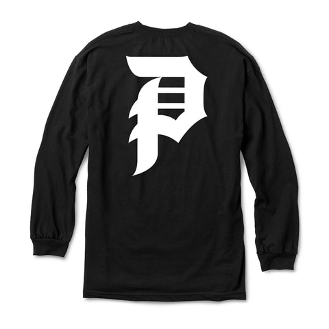 Dirty P Long Sleeve Tee (Black)