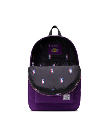 Los Angeles Lakers Settlement Backpack | NBA Champions (Purple)