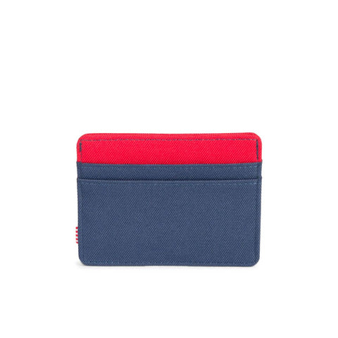 Charlie Wallet (Navy/Red)
