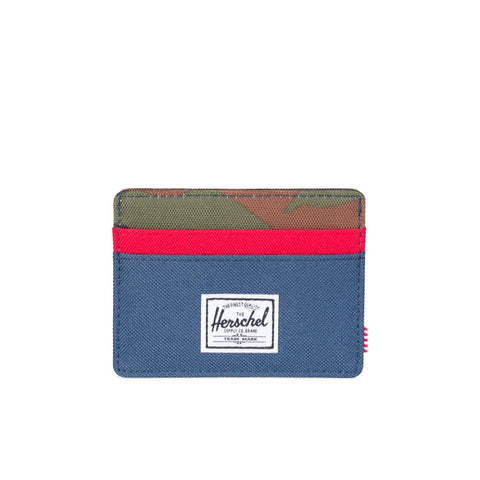 Charlie Wallet (Navy/Red/Camo)