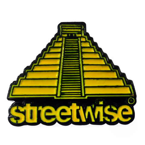 Pyramid Enamel Pin