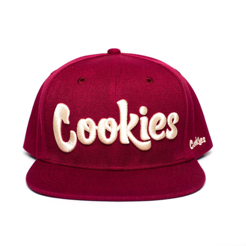 Original Logo Snapback (Burgundy/Cream)