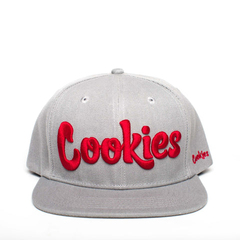 Original Logo Snapback (Gray/Red)