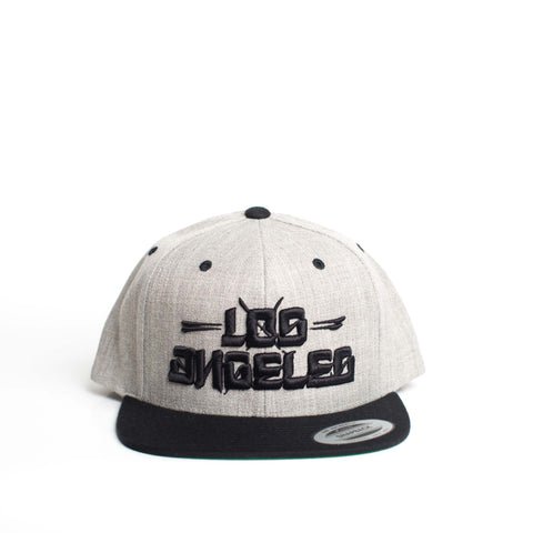Los Blocks Snapback (Gray/Black)