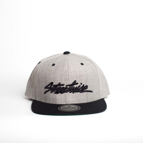 The Flow Snapback (Gray/Black)