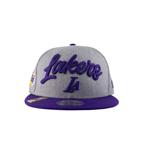 LOS ANGELES LAKERS OFFICIAL NBA DRAFT 9FIFTY SNAPBACK