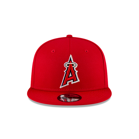 Los Angeles Angels Ligature 9Fifty Snapback (Red)