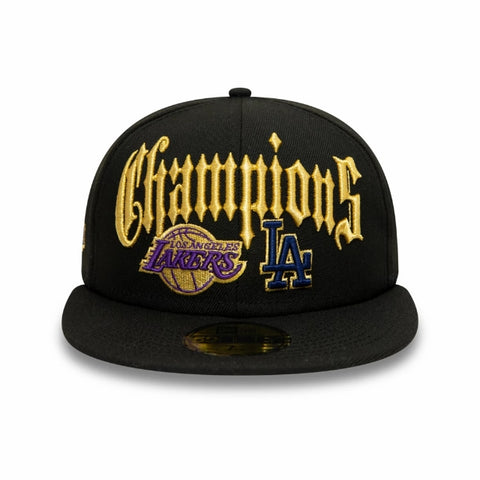 Los Angeles Co Champs 59Fifty Fitted (Black)