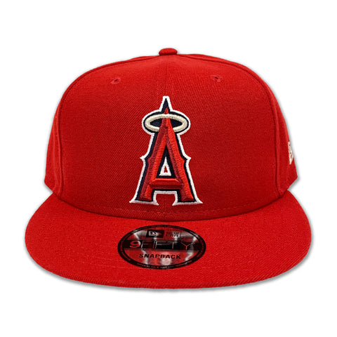 LOS ANGELES ANGELS TEAM COLOR BASIC 9FIFTY SNAPBACK