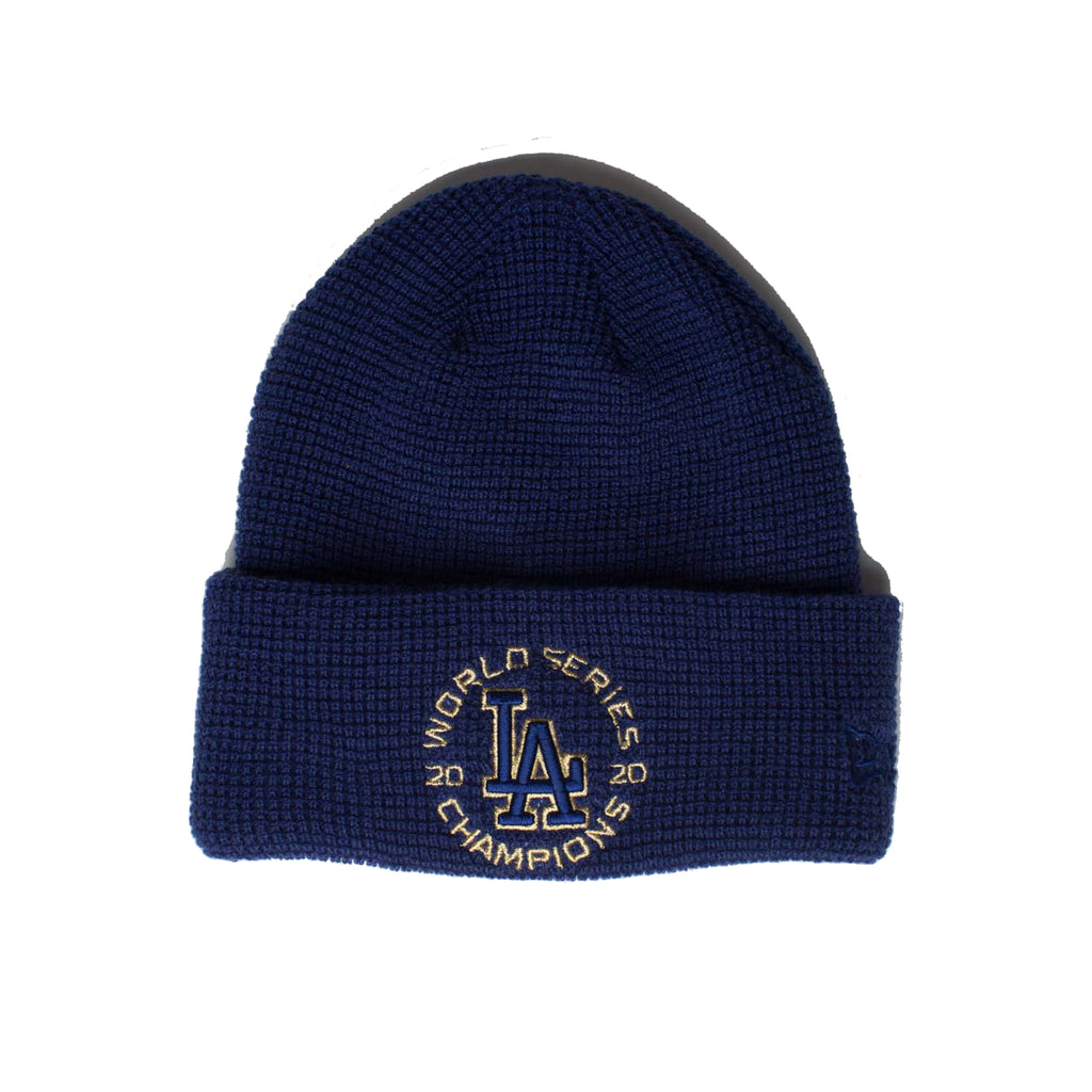 Los Angeles Dodgers Gold Collection Team Color  Knit Beanie (Royal)