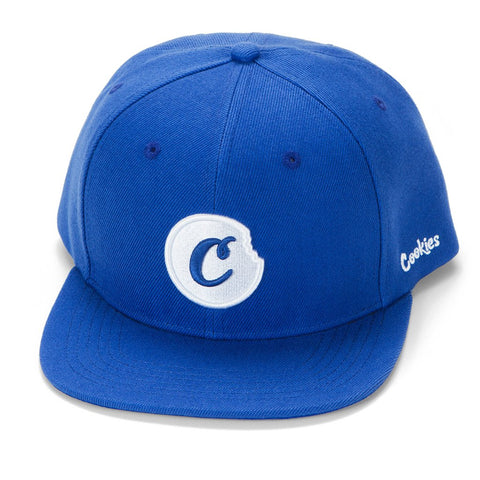 C-BITE TWILL SNAPBACK (ROYAL/WHITE)
