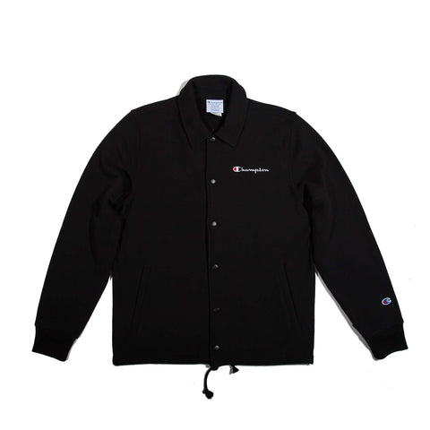 Champion Reverse Weave Coaches Jacket (Black)