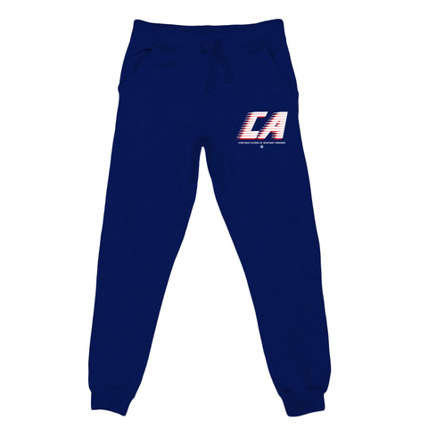 Cali Stripes Joggers (Navy)