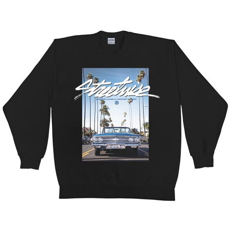 Droptop Crewneck (Black)