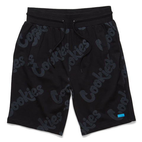 Floressence Cotton Jersey Shorts (Black)