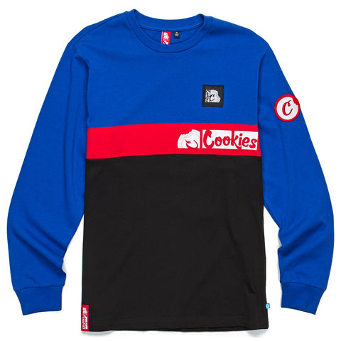 Glaciers Of Ice Long Sleeve (Blue/Black)