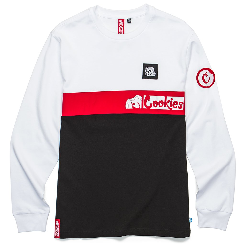 Glaciers Of Ice Long Sleeve (White/Red/Black)