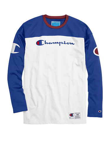 Champion Life® Men's Football Jersey, Script + Big C Logo