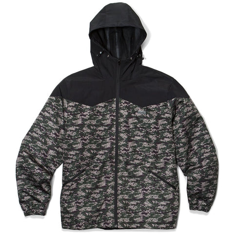 Harvest Camo Poly Hooded Jacket