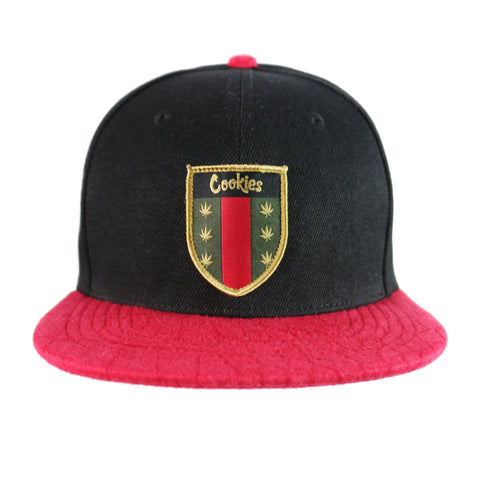Everglade Snapback (Black/Red)