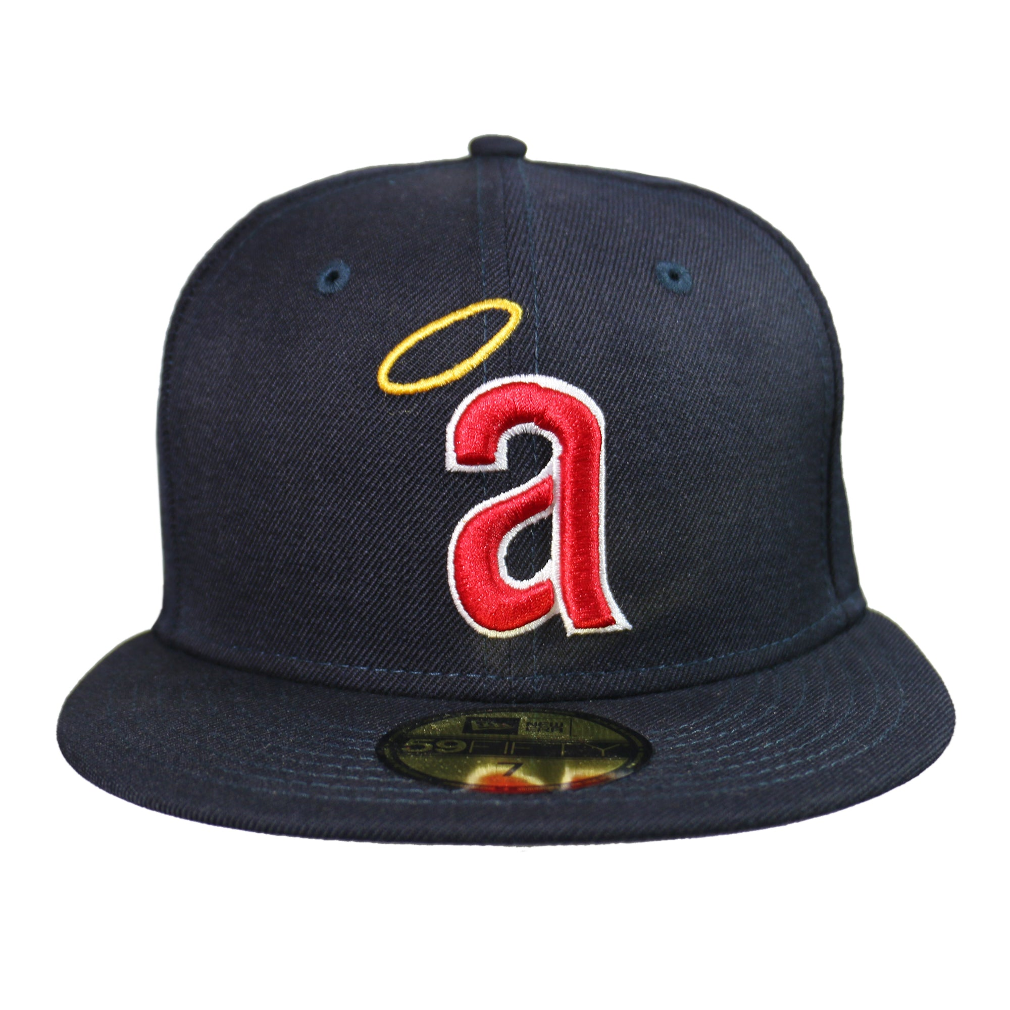 00a3d6a1363d8 Home > Products > New Era 59Fifty Hat California Angels Cooperstown 1971  Wool Navy Blue Fitted Cap