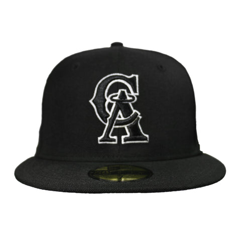 Los Angeles Angels MLB Fashion 9FIFTY Fitted (Black)