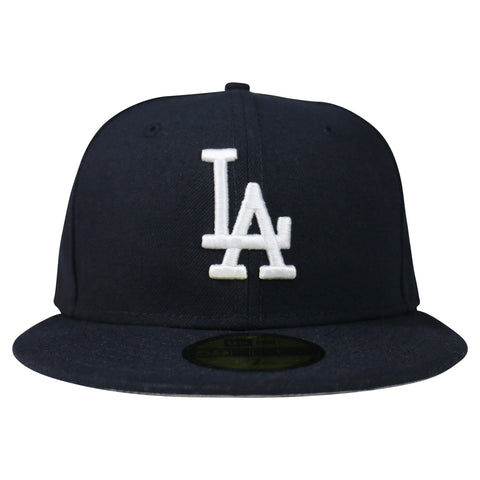 Los Angeles Dodgers New Era Stocked Basic 59FIFTY Fitted (Navy)