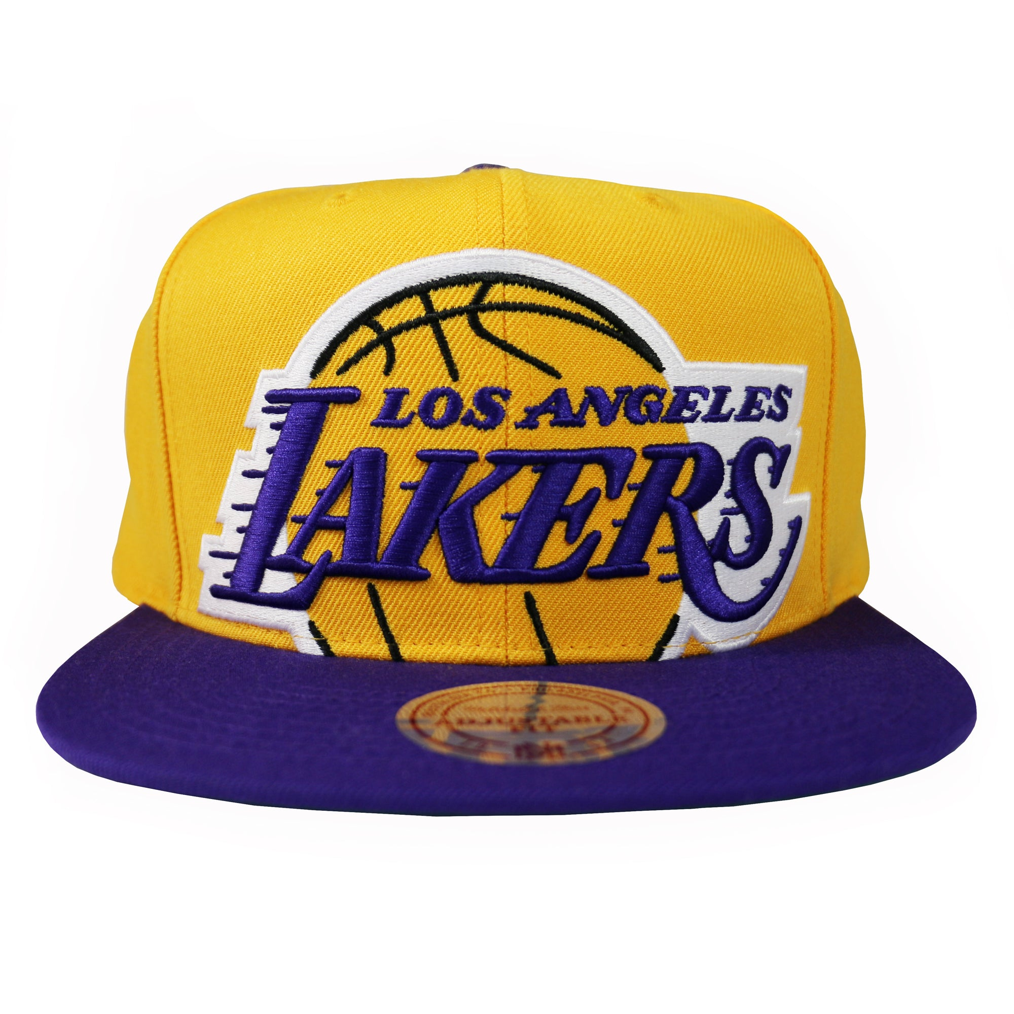 708c83a7 Home > Products > Los Angeles Lakers Cropped XL Logo Snapback