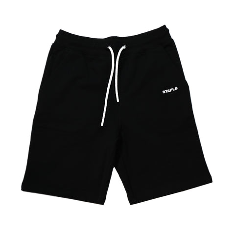 Loopback Sweat Short (Black)