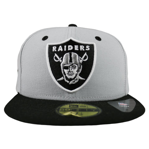 Oakland Raiders NFL 2 Tone 59FIFTY Fitted Cap