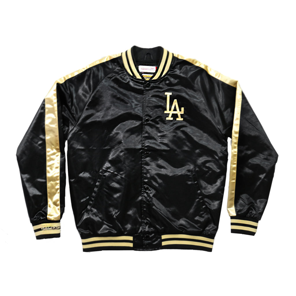 Los Angeles Dodgers Color Blocked Satin Jacket