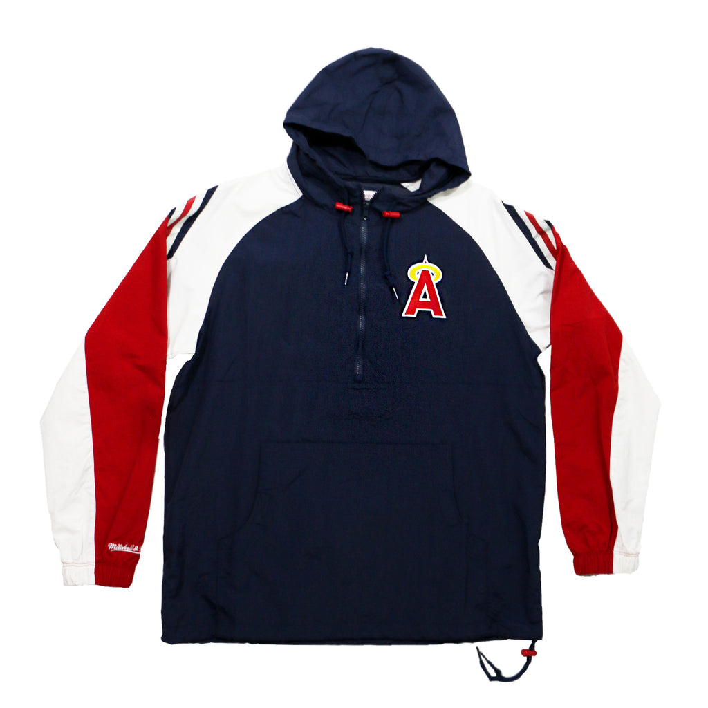 California Angels Half-Zip Anorak Jacket