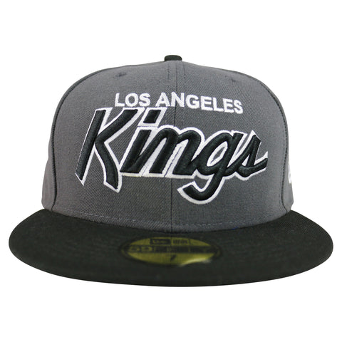 LA Kings Script 59FIFTY Fitted Hat