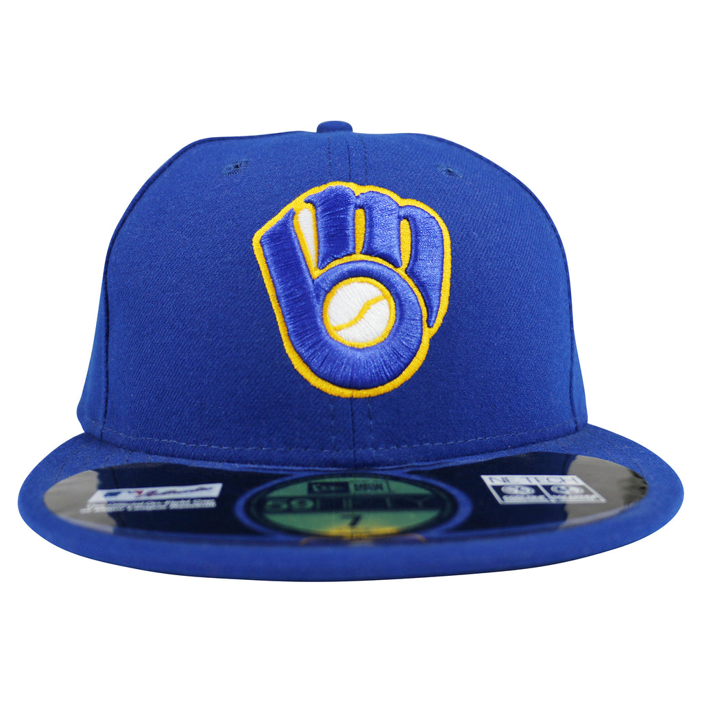 reputable site 5a0b4 f4254 Milwaukee Brewers New Era 59FIFTY Fitted Cap – West Wear
