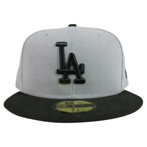 LA Dodgers MLB FC 59FIFTY Fitted Cap (Gray/Black)