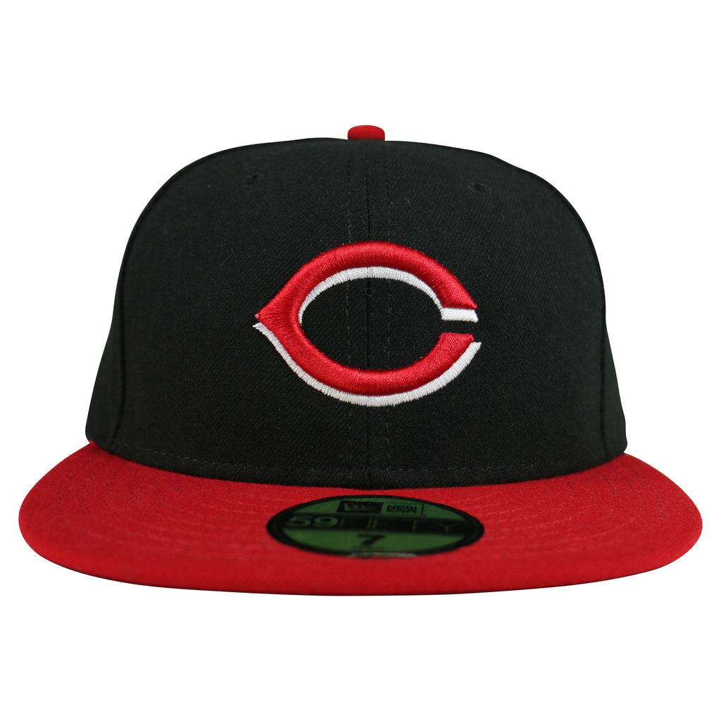 Cincinnati Reds MLB Authentic 59FIFTY Fitted Cap