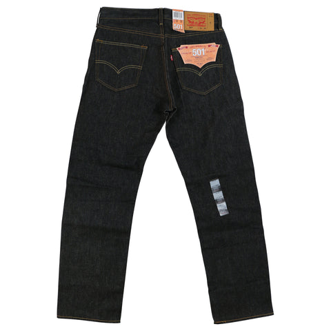 501® Original Shrink-to-Fit™ Jeans (Black Hard)