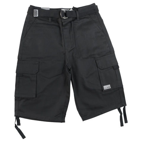 Cargo Shorts (Charcoal)