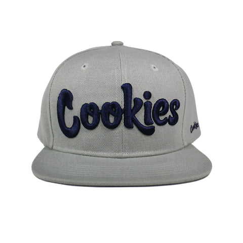 Original Logo Snapback (Gray/Navy)