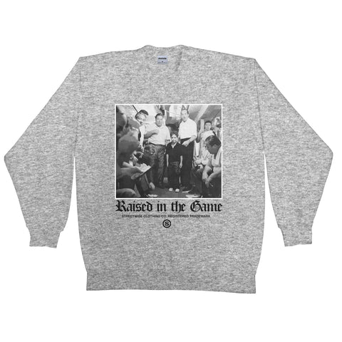 In The Game Crewneck (Gray)