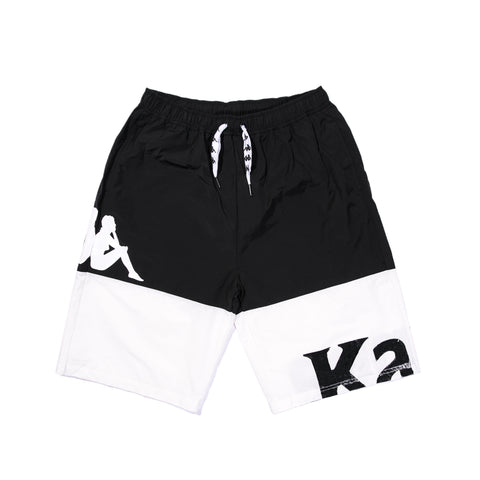 AUTHENTIC SAND CAMEO SWIM SHORTS (BLACK)