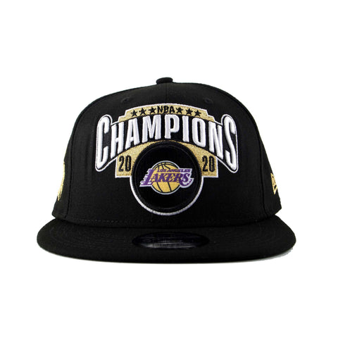 Los Angeles Lakers NBA Champions Official Locker Room 9Fifty Snapback